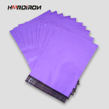 HARD IRON Purple color envelope mailing packaging custom size pouches Courier mailer express bags