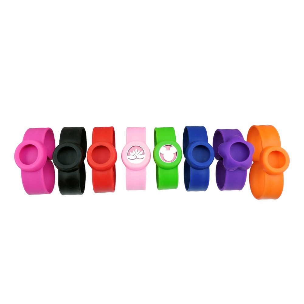 ZP-BS002-15 Silicone Diffuser Locket Bracelet-5