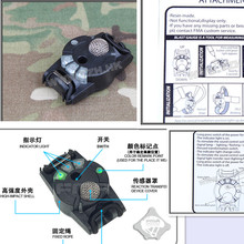 FMA Voice Activated Reaction Transfer Device 3 Modes Outdoor Army Airsoft Tactical Military 1018 Helmet accessories