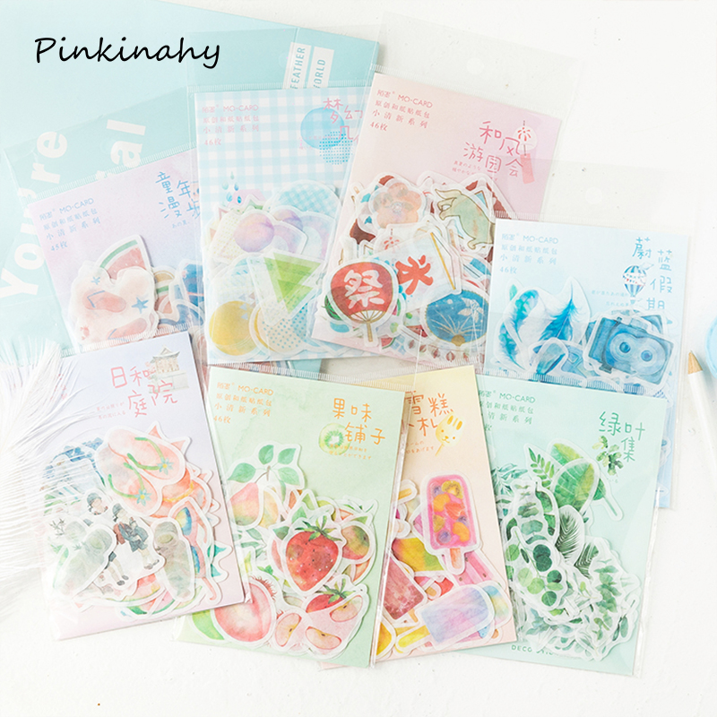 Kids DIY Foil Flower Plant Scrapbooking Stickers Sticker Notebook Diary Craft D