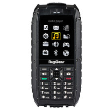 Original RugGear RG128 Rugged Waterproof phone Shockproof Dustproof Military Extreme Mobile Cell Phone floatable GSM Senior