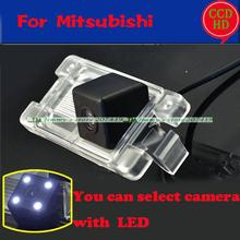 for sony ccd HD car rear reverse parking camera for America Mitsubishi Pajero wire wireless camera night vision waterproof(China)