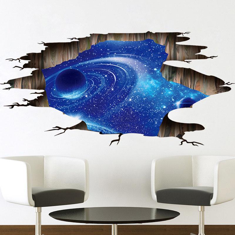 HTB1oIqqmdbJ8KJjy1zjq6yqapXaH 3d cosmic space galaxy wall sticker for kids rooms