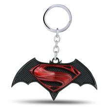 Buy New Avengers Batman Superman Key Chain Super hero Pendant Keychain figure Style Metal Keyring fans for $1.67 in AliExpress store