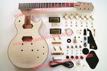 LP Custom style/ Flamed maple top/ Mahogany Body & Neck/ AFANTI DIY electric guitar kit (CST-830)