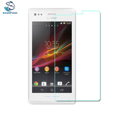 OUZIFISH Premium Tempered Glass For Sony Xperia M / C1904 C1905 Dual C2004 C2005 Screen Protector 9H Protective Film Guard
