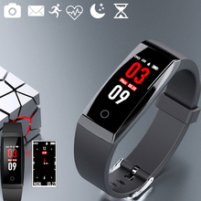 Buy IPS color fitness tracker smart band smart bracelet activity tracker fitness bracelet smartband smart wristband PK mi band 2#C0 for $26.11 in AliExpress store