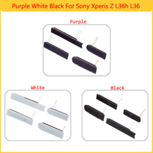 For Sony Xperia Z L36H L36 C6602 C6603 C6606 C660X New USB Port+Earphone Jack+Micro SD+SIM Card Dust Plug Cover Free Shipping