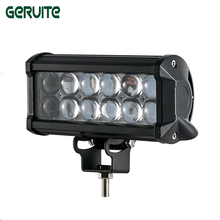 Best Quality 4 pieces 7 inch 4D LED Work Light Bar 36W for motorcycle Truck Tractor Boat SUV ATV AUTO CAR LED headlight(China)