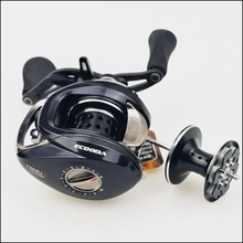 Ecooda Genius 160g carbon shell super light low profil baitcasting reel ENG100R ENG100L