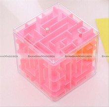 Transparent Labyrinth Rolling Ball Toys For Chilren Adult 3D Magic Cube Game Toy 70517043 KTK