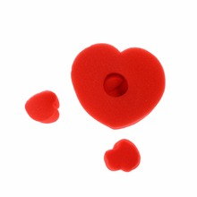 ZTOYL ( one big and four small) Magic Trick Sponge heart close up street magic accessories simple pack Close-up magic(China)