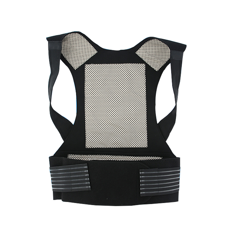 Tourmaline Self-heating Magnetic Therapy Belt Waist Support Kneepad Shoulders Sweater Vest Waistcoat Warm Back Pain Treatment<br>