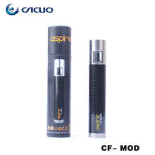 Original aspire cf mod battery aspire 18650 mod black red blue grey color electroic cigarette battery ship in 24hours