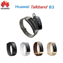 Smart Watch Ultimate Smartband with Bluetooth headset Huawei Talkband B3(China)