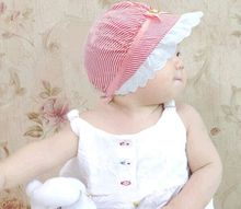 2015 new Lace lace baby baby child pots hat Children bucket hats Princess sunscreen hat