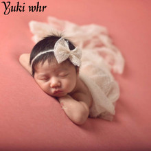 Mohair Soft Baby Photography Props Newborn Photograph Wraps Infant Bebe Handmade Scarf 50*160cm Swaddling Accessories 8Colors