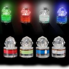Hot LED Deep Drop Underwater Diamond Fishing Flashing Light Bait Lure Squid Artificial Fishing Bait pesca Accesorios