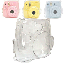 High Quality Clear Crystal Protective Hard Camera Cover Carrying Case For Fujifilm instax Mini 8 8 Plus 9 Film Instant Camera(Hong Kong)
