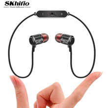 Sport Bluetooth Earphone Fashion SKhifio S8 In-ear Stereo Earphone With Microphone Portable Earphone For iPhone Samsung HTC