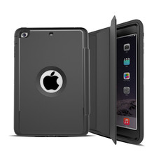 Case For apple ipad mini 2 Kids Safe Shockproof Heavy Duty Silicone Hard Stand Cover for ipad mini 1/2/3 360 full protection