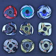 One Piece Weapon Naruto Shuriken Turn darts Fidgets Cubes Spinner HandsToys Rotary Tri-spinner Naruto Dragon Blade Sword in Hand
