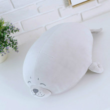 Sea World Animal Sea Lion Doll Seal  Plush Toy  Baby Sleeping Pillow  Kids Stuffed Toys  Gift for Girl 1pc 13-19.7in