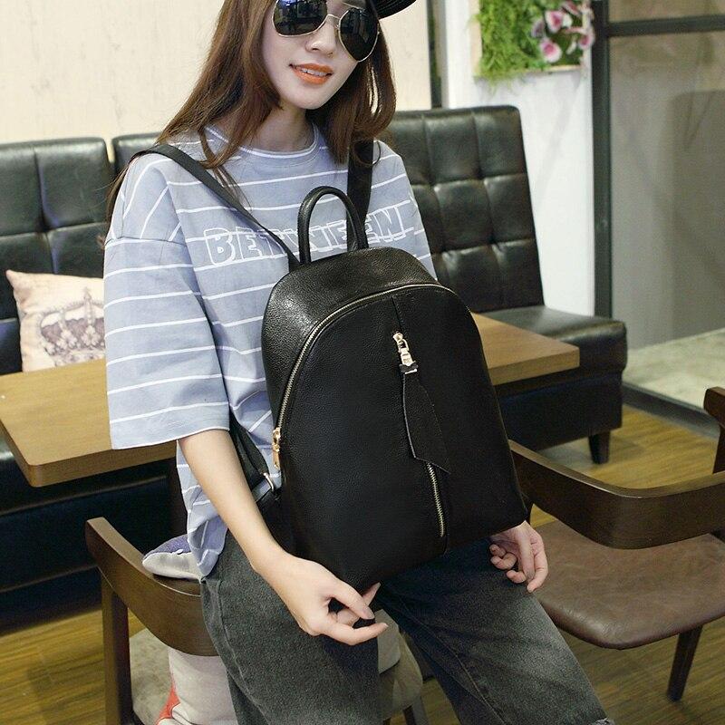 Head layer cowhide  Backpacks Harajuku School Backpack Shoulder Bags For Teenager Girls Book Bag carteras mujer marcas famosas<br><br>Aliexpress