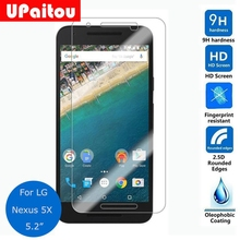 UPaitou Screen Protector for LG google nexus 5X Tempered glass 2.5D 9H Safety Protective Glass Film on Nexus5X H790 H791 H798