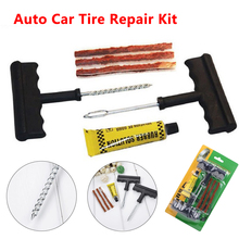 Buy Hand Tools 6Pcs Auto Car Tire Repair Tools Kit Bike Auto Tubeless Tire Tyre Repair Kit Puncture Plug Repair Kit Car Accessories for $2.92 in AliExpress store