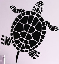 Turtle Wall Sticker Ocean Sea Animal Turtle Aquarium Wall Art Sticker Restaurant Sea Food Shop Window Wall Decal Room Decoration