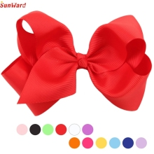 SunWard Newly Design Fashion Big Bow Hairpins Hair Clips For Children Kids Girls Hair Accessories Drop Shipping Sunward