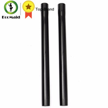 New Arrival 2pcs 45cm Plastic Black Vacuum Extension Wand Tube Wet Dry Vacuum Cleaner Floor Accessory Tool