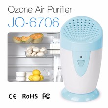 Hot Sale Mini Portable Battery Powered Ozone Generator Air Cleaner Fridge Food Fruit Vegetables Shoe Wardrobe Car O3 Ionizer(China)
