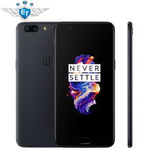 Original Oneplus 5 Mobile Phone Snapdragon 835 Octa Core 6GB 64GB 5.5 Inch 1080P 4G FDD 20.0MP Google Play  Fingerprint ID 5V 4A