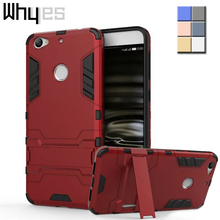 Double Armor Bracket Stand Case for LeTV 1S LeTV One S X500 Octa Core 5.5 inch 2 in 1 Silicone & Hard Shell Back Cover stand