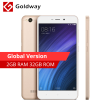 "Global Version! Original Xiaomi Redmi 4A 4 A 2GB RAM 32G ROM Mobile Phone Snapdragon 425 Quad Core 5.0"" 13.0MP 3120mAh Battery"