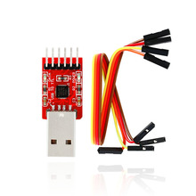 Buy Free shipping! CP2102 USB TTL / STC 6PIN Speed download arduino+4Pin dupont cable for $3.65 in AliExpress store
