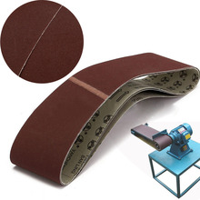 3pcs/set 240 Grit Sanding Belts Heat Resistance Sanding Belt 100x915mm For Metal Working Tool(China)