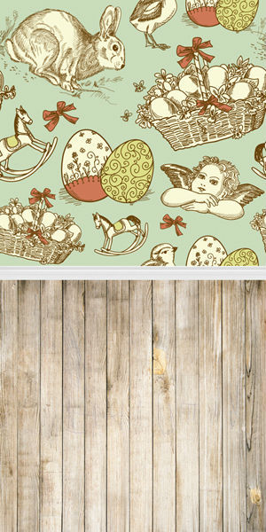6X10ft Seamless Vinyl Photography Backdrop newborn Easter wood computer print background for photo studio F-032<br><br>Aliexpress