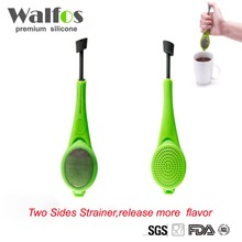 Walfos Healthy Flavor Total Tea Infuser Food Grade PlasticTea&Coffee Straine Hot Sale