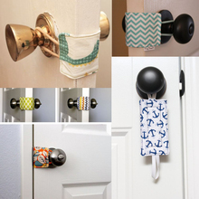 Baby Keep Quiet Cushy Closer Door Latch Cover Cushion Chevron Practical Baby Safety Gift Door Close Kids Protector Pad(China)