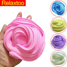 DIY Animal Ice Cream Slime Clay Fluffy Floam Anti Stress Relief No Borax Creative Fidget Toys for Children Kids Parent Play Fun