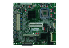 LGA 771 ATX Power G41 6 LAN Motherboard network Server Firewall router Motherboard(China)