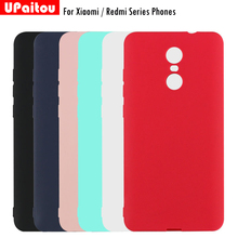 Ultra Thin Soft TPU Matte Case for Xiaomi Mi 5 5s Plus 6 Redmi Note 2 3 4 4X 4A Pro Prime Mobile Phone Back Cover Case Skin