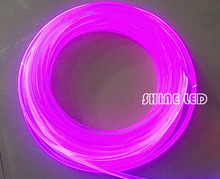super bright PMMA optical fiber cable side glow 14.0mm diameter for fiber optic lighting