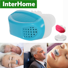 Patent PM2.5 Stop Snoring Device Sleeping Anti Snore Apnea Ventilation Nose Breath Apparatus Nasal Congestion Clean Air Purifier(China)
