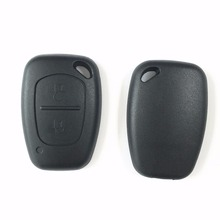 2 Button Remote Key Case Shell Fob Cover For Renault Traffic Master Vivaro Movano Kangoo No Blade Free Shipping