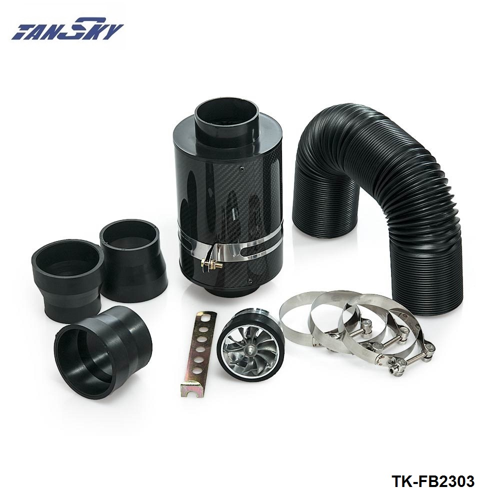 UNIVERSAL INDUCTION KIT WITH FILTER ADAPTERS CARBON//BLACK Volvo 2