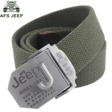 Afs Jeep Brand Mens Belt Luxury Designer Belt Men Military Men's Jeans Belts Ceinture Homme Cinto Masculino Cinturones Hombre(China)